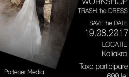 Workshop foto Trash the Dress