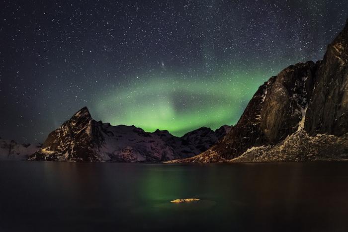 radu popovici Aurorei Boreale in Lofoten Norvegia resize