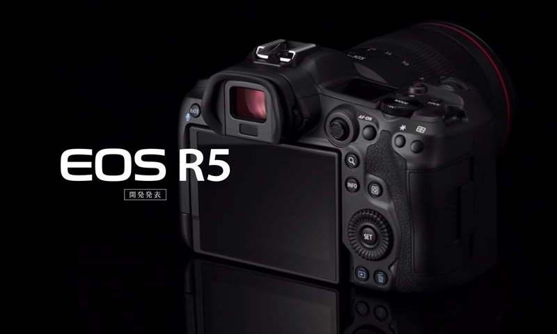 Noul full frame mirrorles Canon EOS R5 va fi prezentat public la The Photography Show!