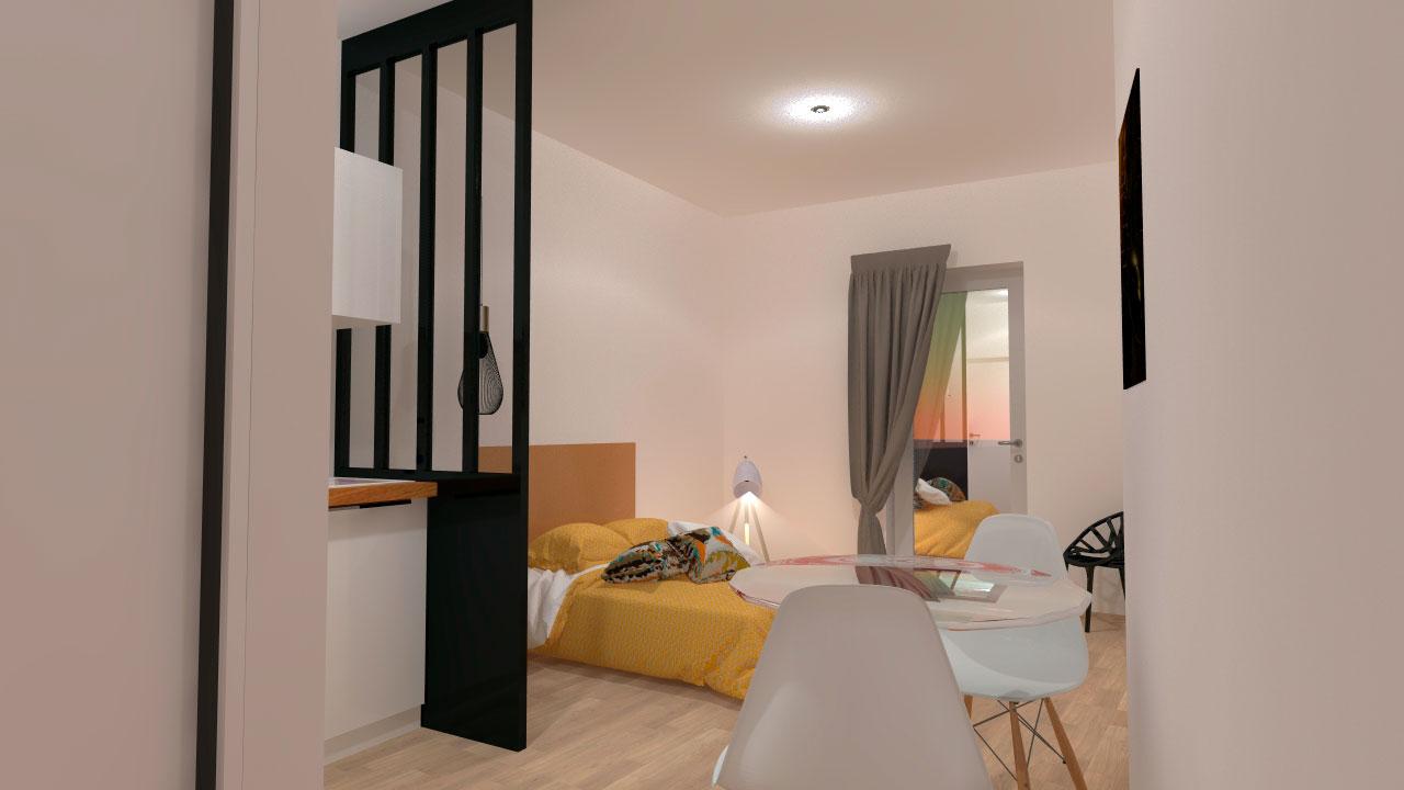 excellent studio talence forum location courte dure la de finette with forum maison neuve. Black Bedroom Furniture Sets. Home Design Ideas