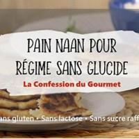 Pain Naan pour régime sans glucide