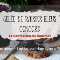 Gelée de raisins bleus Concord