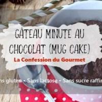 Gâteau minute au chocolat (mug cake)