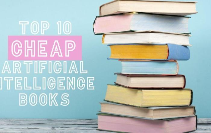 Top 10 Best Cheap Artificial Intelligence Books