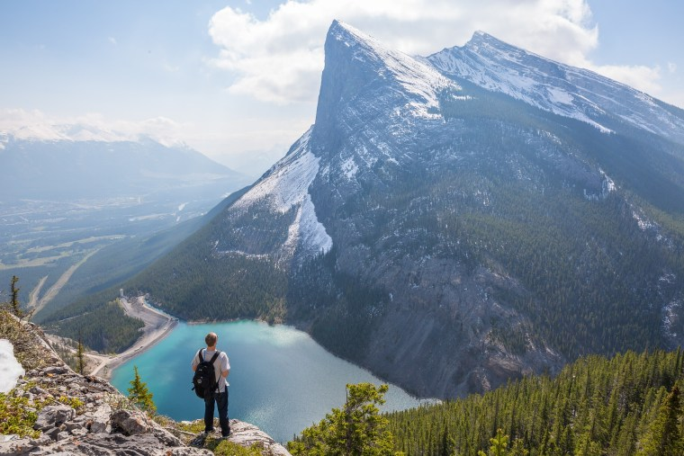 Canadian Rockies, hiking, hiking view, mountain view, mountains, snowy mountains, hiking trail, marketing strategy