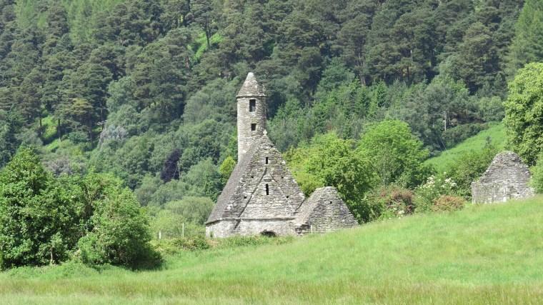 Landscape in Ireland St Patricks Day