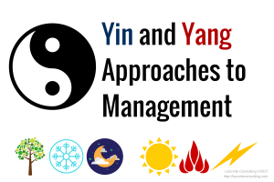 yin and yang, balance, management, leadership approaches