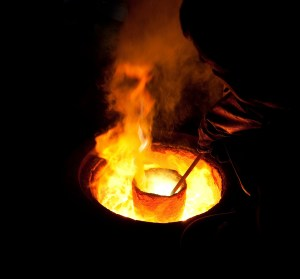 Smelting, smelter, crucible, gold smelting, gold, refining, gold flakes, pure gold, impurities