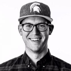 Caleb Wojcik, black and white, founder, entrepreneur, DIY Video Guy, San Diego, Year In Review