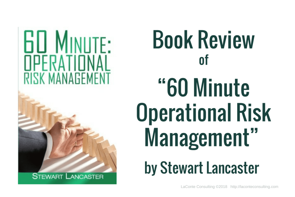 60 minute, operational risk, risk manager, risk management, risk management book, Stewart Lancaster