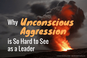 unconscious aggression, aggression, aggressive, behavior, leadership, leader, anger, angry, management, risk management