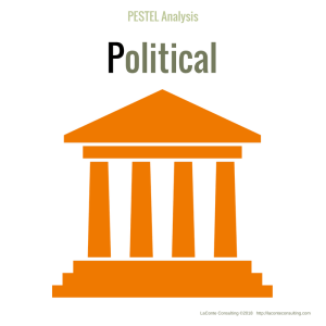 PESTEL Analysis - Political