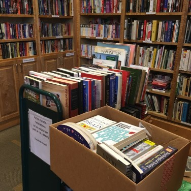 library book donation, book donation, books, book dropoff, donate books, library, Minimalist Manager