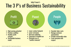 3 Ps, 3 P's, The 3 P's, Profit Planet People, Julie Fraser, Iyno, Iyno Advisors, earning potential, positive cashflow, healthy profit margins, strategic risk