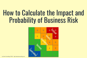 Calculate Impact and Probability, Strategic Risk, Business Risk, Strategic Severity, Risk Matrix, Risk Severity, Strategic Impact, Strategic Probability, impact and probability