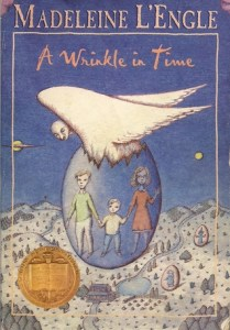 A Wrinkle in Time, Wrinkle in Time, Madeleine L'Engle, bestseller, Newberry Award, Newberry Award winner, Walt Disney movie, movie adaptation, children's book, book, book review