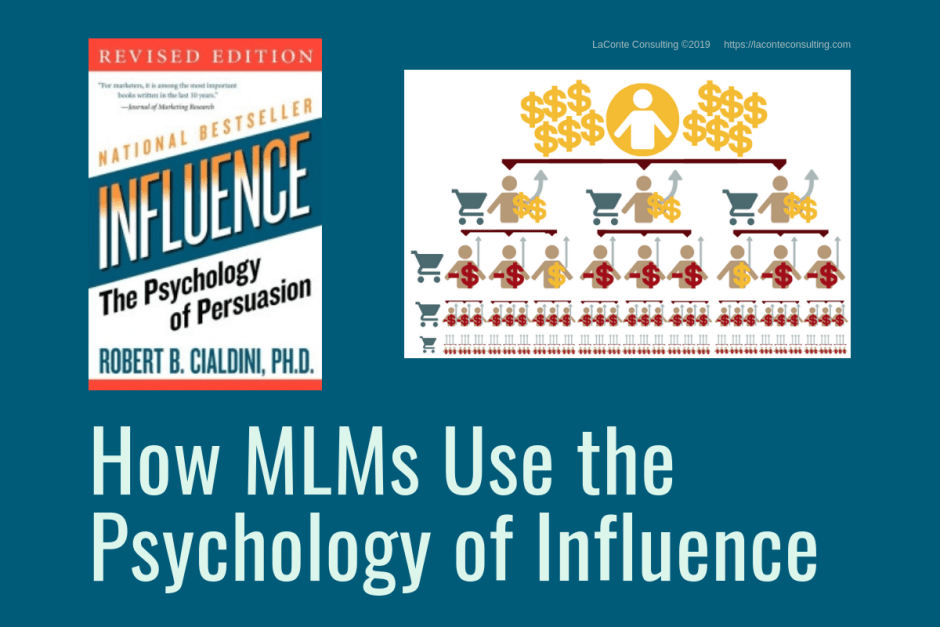 MLM, MLMs, Multi-Level Marketing, Network Marketing, Direct Sales, Psychology of Influence, Psychology of Persuasion, Robert Cialdini, influence, psychology, strategic risk