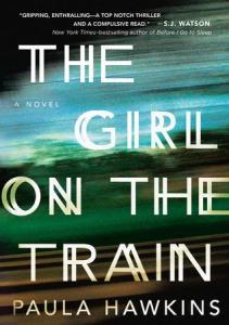 The Girl on the Train, Paula Hawkins, murder mystery, fiction book, novel, book, book review