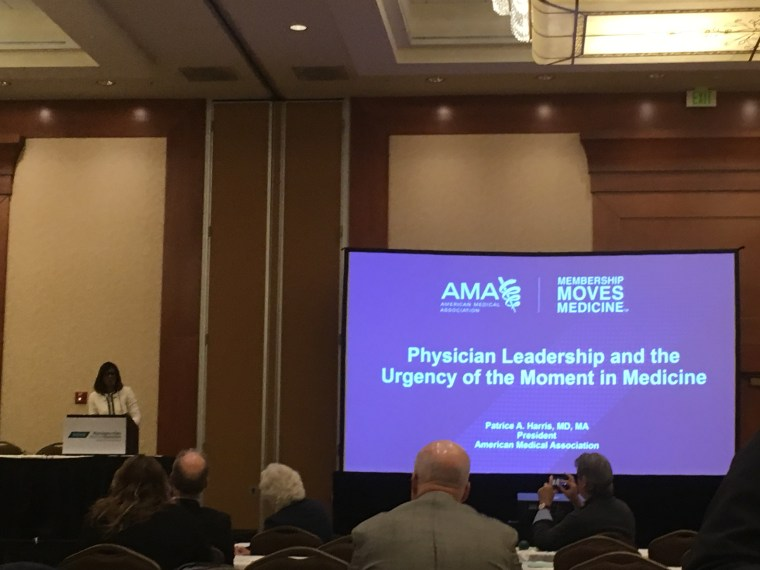 WSMA, Washington State Medical Association, AMA, American Medical Association, Patrice Harris, Patrice Harris MD, Seattle, medical doctors, physicians, medical conference