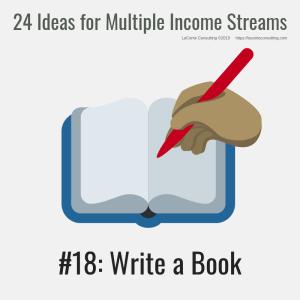 multiple income, multiple income streams, write a book, write, book writing, profit, profit margins, income streams, profit streams, strategic risk, strategic marketing, marketing