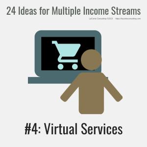multiple income, multiple income streams, virtual services, profit, profit margins, income streams, profit streams, strategic risk, strategic marketing, marketing