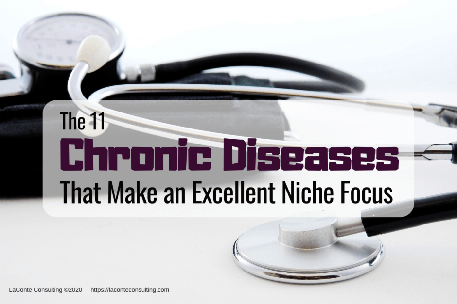 chronic disease, chronic diseases, chronic illness, niche focus, niche practice, niche marketing, marketing strategy, niche strategy, strategic risk