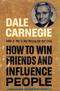 book cover, Dale Carnegie, How to Win Friends and Influence People, influence, classic book, personal development, professional development