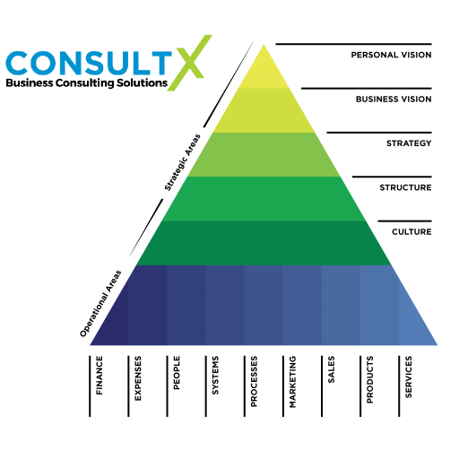ConsultX Business Triangle categories