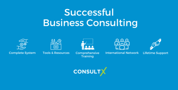 what ConsultX business consulting provides