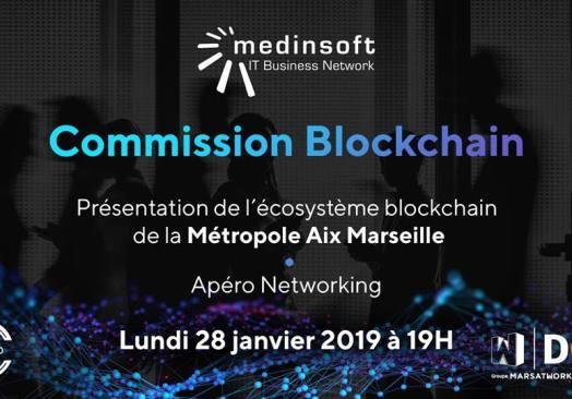Lancement Commission Blockchain by Medinsoft