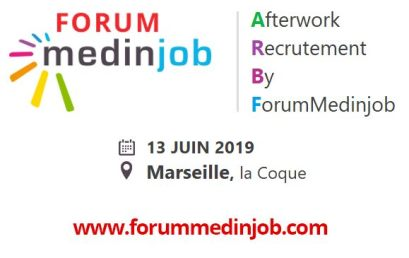 Afterwork Recrutement by ForumMedinjob