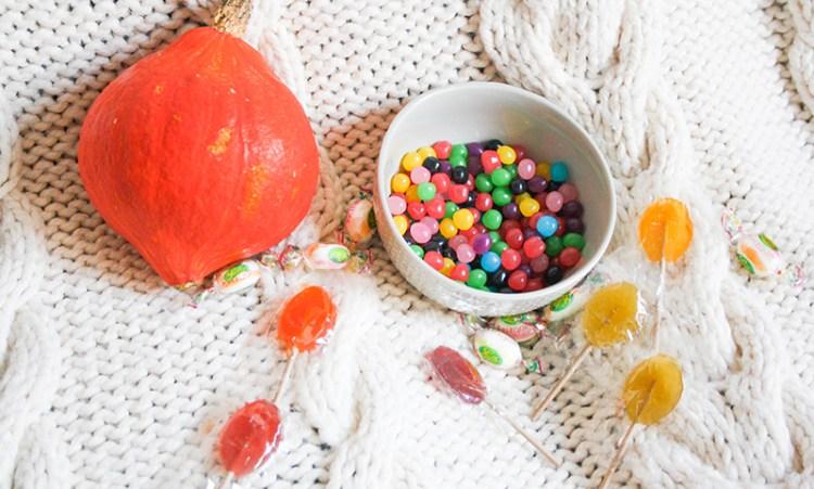 bonbons vegan halloween
