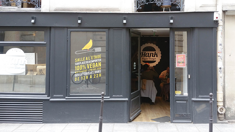 hank burger fast food vegan à paris