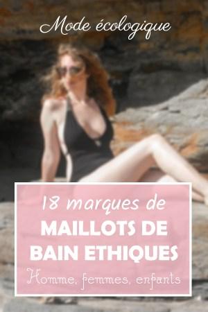 maillot de bain éthique et écologique 18 marques