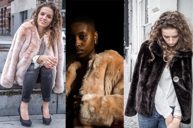 aline's fashion vegan fourure