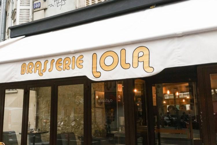 brasserie lola restaurant vegan