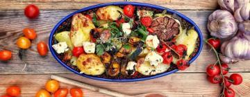 Fasola masłowa z ziemniakami, jajkiem i tuńczykiem