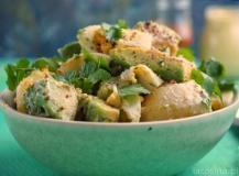 Sałatka ziemniaczana z avocado