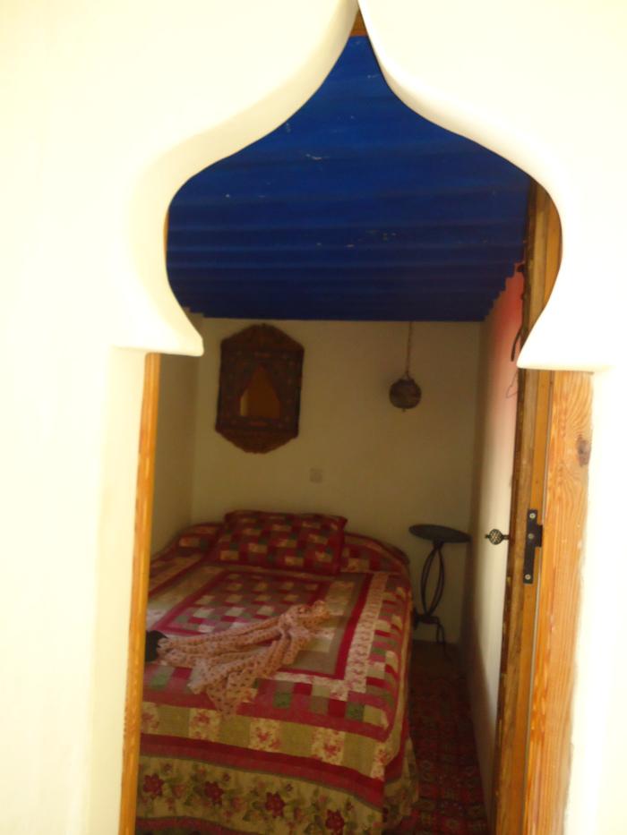 Dormitorio casa de Assilah