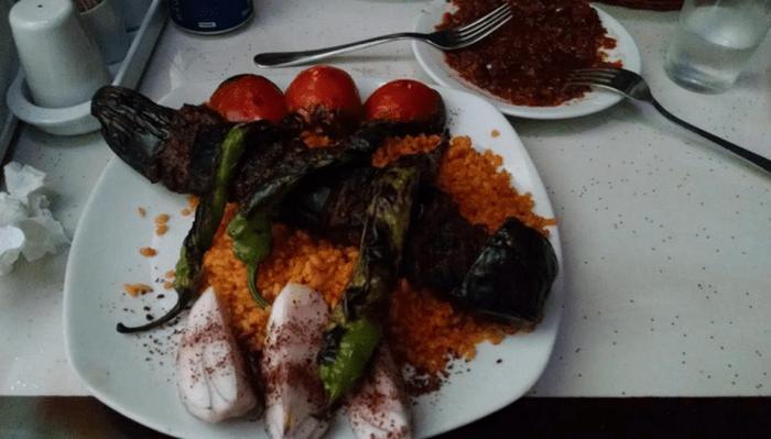 De cena, un kebab