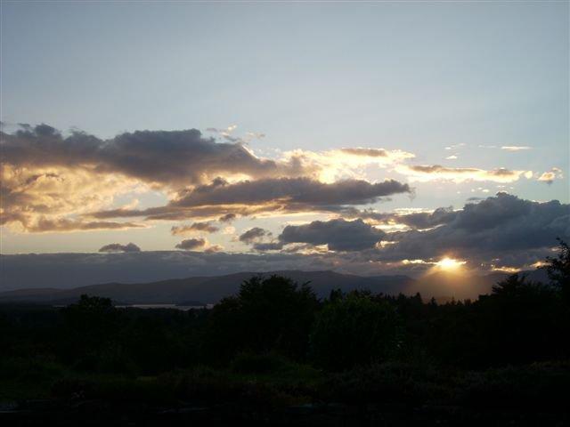 Atardecer en Loch Lomond