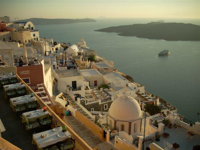 Fira. Grecia: Atenas e islas