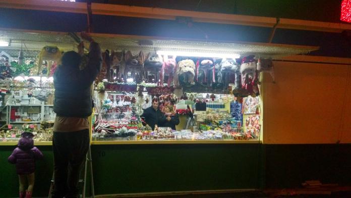 Navidad en la plaza Mayor de Madrid