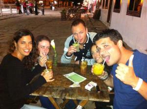 Dos holandeses, una francesa y dos españolas en Paraty