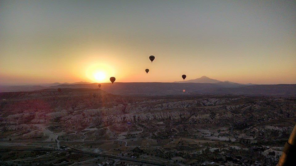 Vuelo en globo en la Capadocia, Turquía
