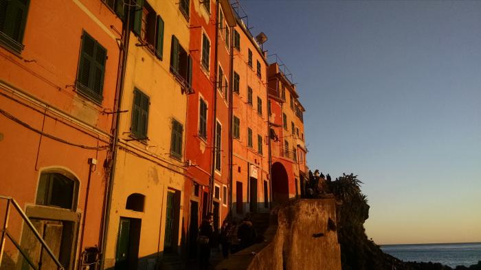 Fachadas de Riomaggiore