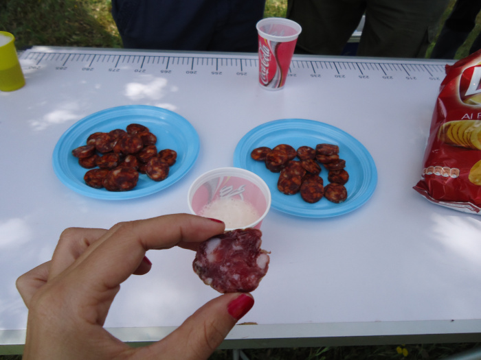 Degustación de ibéricos, Monfragüe