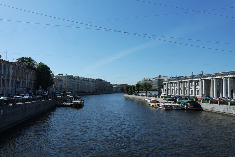Canales de San Petersburgo, Nevsky pr.