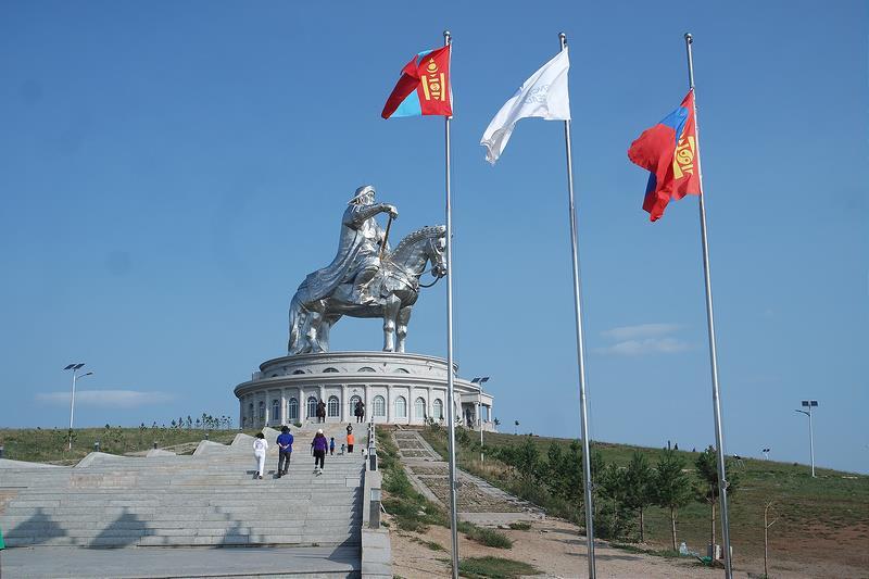 Estatua de Gengis Kan, qué ver en Mongolia
