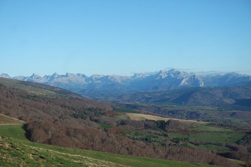 Los Pirineos desde la Selva de Irati